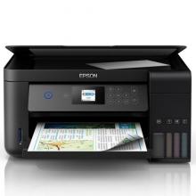 爱普生(EPSON)L4168墨仓式品质款 彩色无线多功能一体机(打印 复印 扫描 wifi 自动双面)